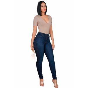 Fashion Nova High Waisted Skinny Jeans Size 7